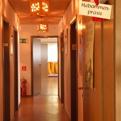 Eingang Hebammenpraxis