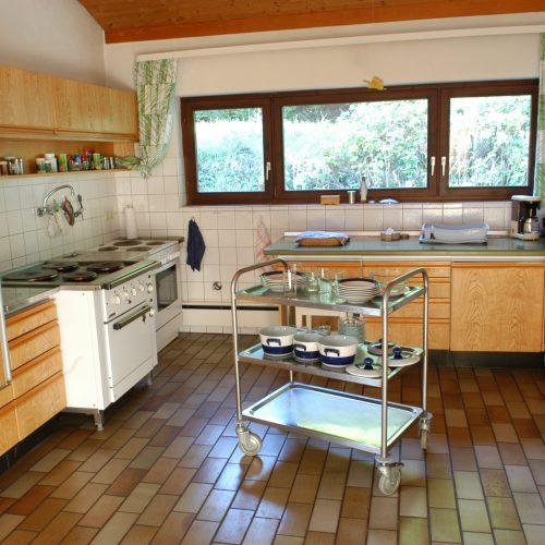 Großräumige Küche