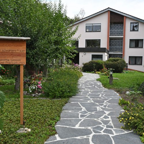 Eingang zum Haus Samaria